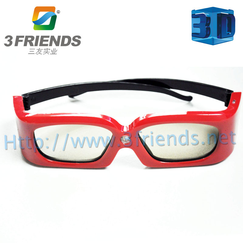 Hot selling  SY-21 3D active shutter 3D glasses for projector Red and Blue