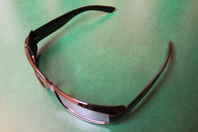 Pop Style  2pcs/lot Colored PC Frame Hardcoating Lens Passive Polarized 3D Glasses 3D Eyewear