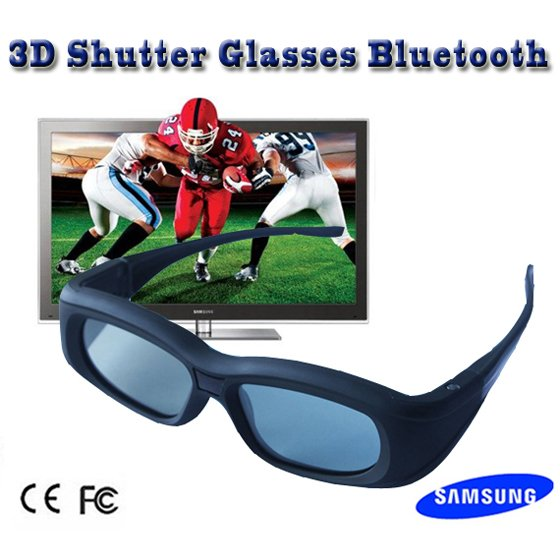 High quality 3d shutter glasses for Samsung 3D TV Bluetooth +Free shipping