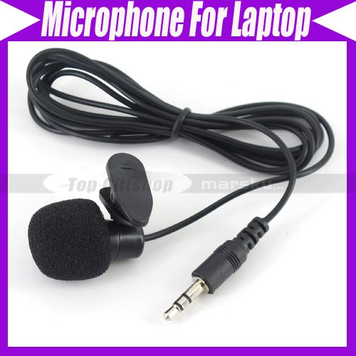 Clip On Mic Microphone For Laptop PC Computer #853