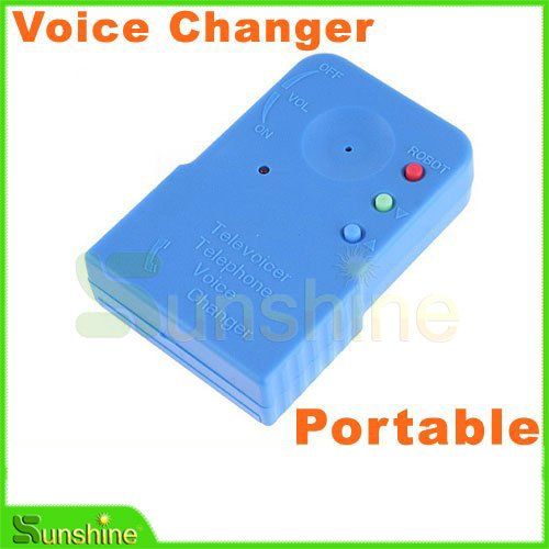 Free Shipping Wholesale factory Price Wireless Mini 8 Multi Voice Changer Microphone,warranty one year