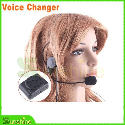 Wholesale Mini 8 Multi Voice Changer ,Microphone Megaphone Loudspeaker,Free Shipping&Warranty one year