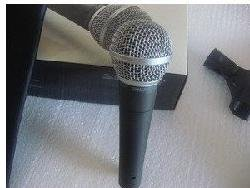 FREE SHIPPING FAST MAIL Very Good Quality Hand-held  sm58lc Microphone 2pieces/lot
