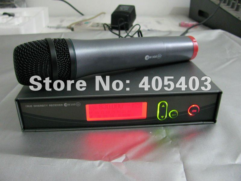 Free shipping 2pcs/lots wholesale EW335G2 / EW335 G2 handheld mic  wireless microphones Systems