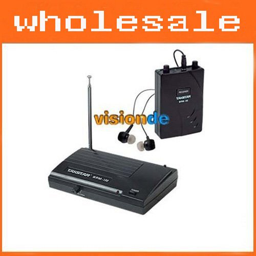 High-quality WPM-100 Wireless Monitor System Wireless Family Fun TV Entertainment Headphones