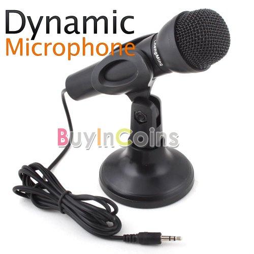 Dynamic Microphone Mic for PC Desktop Karaoke Skype   [2501 01 01]