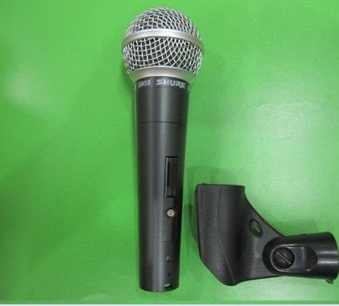 2PCS Hot selling   Free shipping   have switch  SM58s  Microphone  Free shipping to all over the world