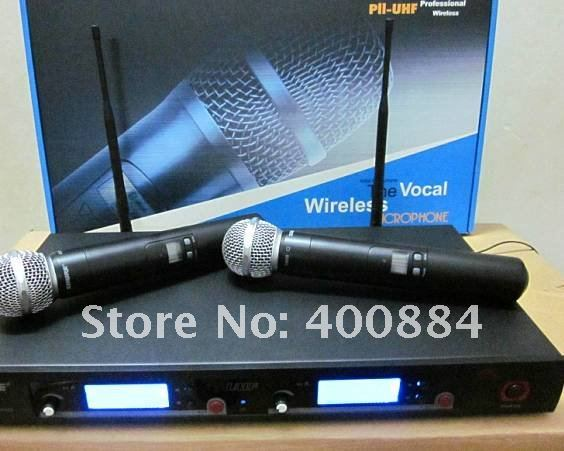 Free shipping  new mic  UR8D wireless Dual Channel handheld microphone  wireless microphone