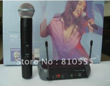 Free shipping PGX24 BETA58  UHF Wireless handheld  Microphones
