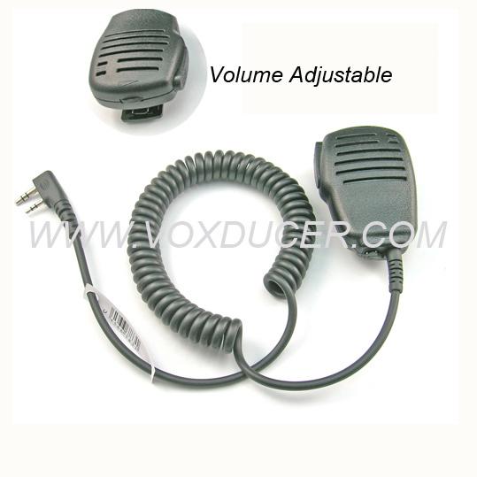 For Baofeng uv 5r dual band UV-5RA UV-5RB UV-5RC UV-5RD UV-5RE Speaker Microphone with Volume Control