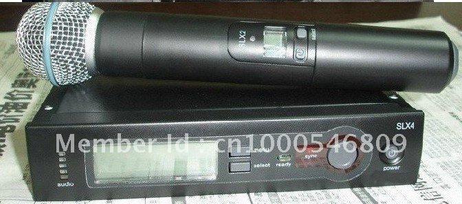 Free shipping SLX Wireless Vocal Mic System SLX24 beta58 handheld microphone