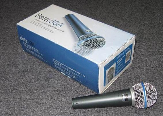 FAST & free  SHIPPING new mic Wired microphones B*58 HIGH QUALITY