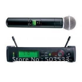 Free shipping SLX Wireless Vocal Mic System SLX24 / Beta58 microphone