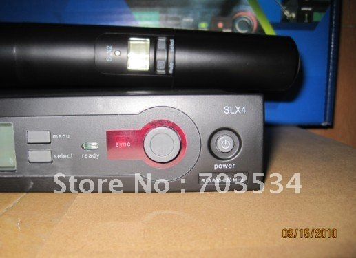 DHL wireless mic Wireless System Portable SLX24\BETA58 Vocal Micros handheld mic