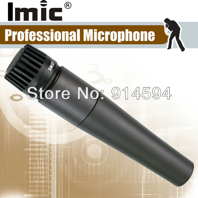 Free Shipping , Grace A Quality Professional Wire microphone , 57Dynamic Cartridge with Transformer Component  for Perfect Sound