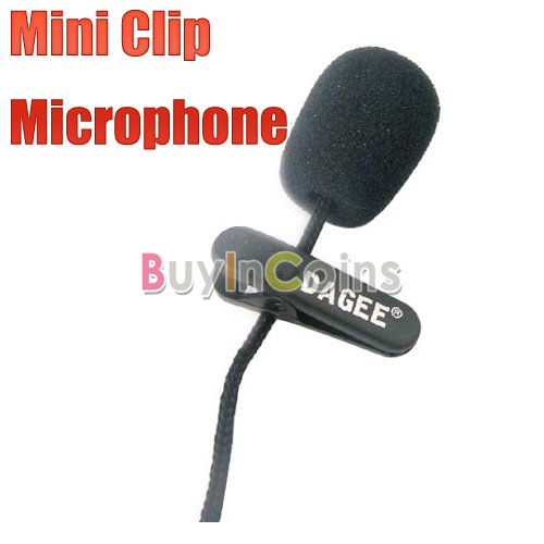 Mini Clip Business Stereo Microphone Mic for PC Laptop 01  [49|01|01]