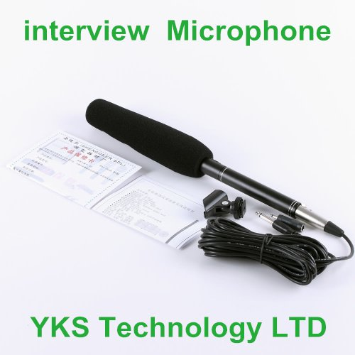 """free shipping 14.37"""" Camera Camcorder Shotgun  interview  Microphone Electret--Y526"""