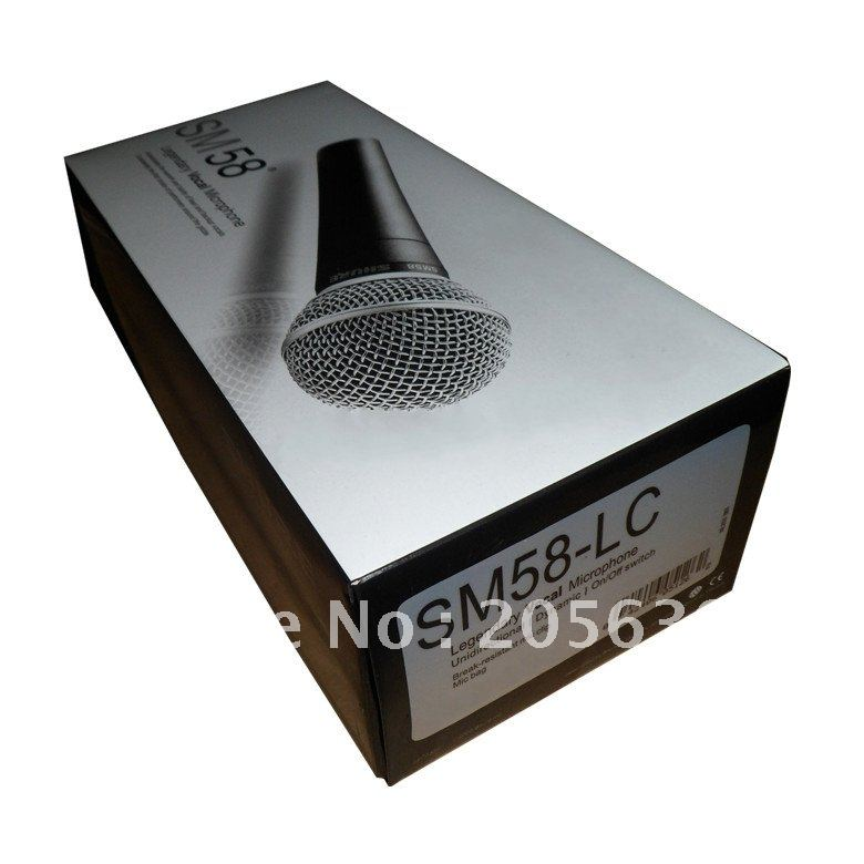 wired Professional microphone KTV FREE SHIPPING +  @M 58 cheap price Really good quality    5PCS