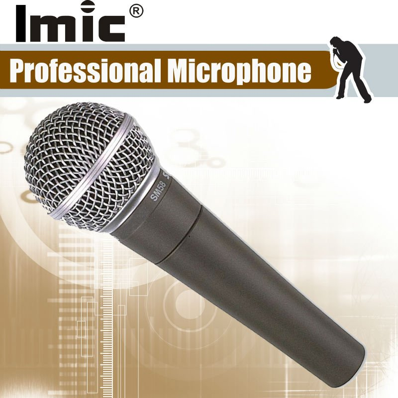 Free Shipping  Grace A Quality Wired  Microphone , new 58 Brazil Style Package Box , Precision Crafted and World-Renowed