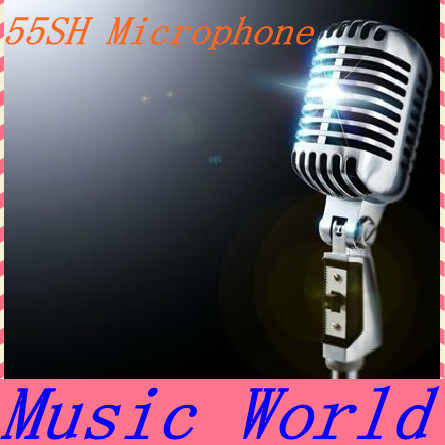 Hot Sale Good Quality 55 SH Dynamic microphone Vintage Style Vocal Mic Microphone 55 SH Microphone