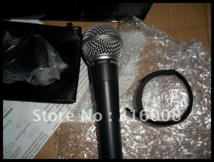 free shipping  high quality  not switch Direct shipping s*58lc Wired microphone  2pc