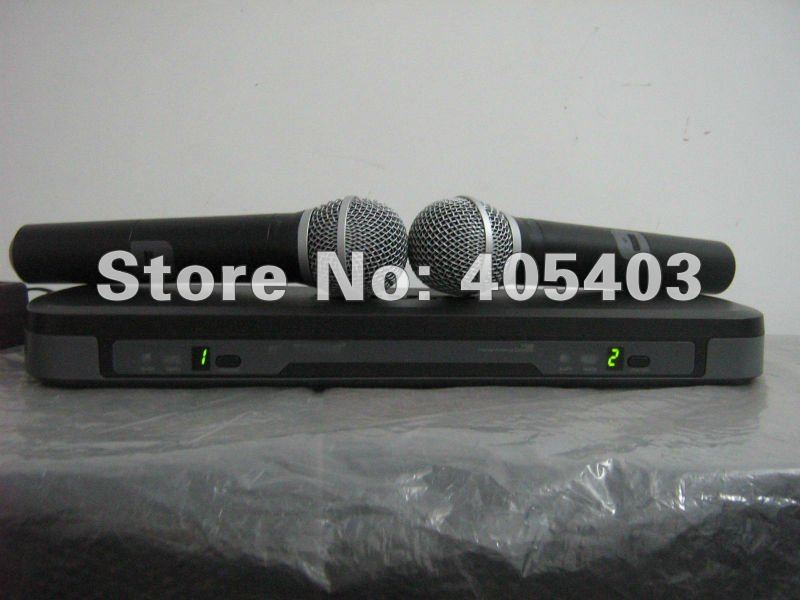 Free shipping  Dual Channel PG288  Wireless Microphone System