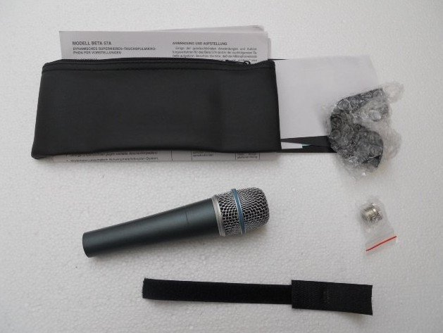 Hot Sale new High quality beta57a handheld Microphone with retail box Freeshipping