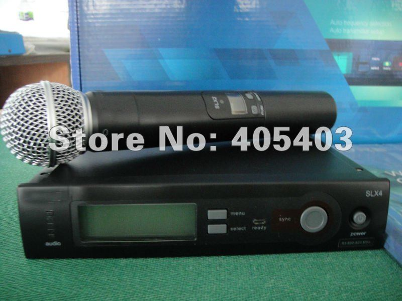 Free shipping SLX24 / sm  58  slx  Wireless Microphone System by china post air parcel 24