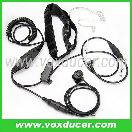 Two way radio accessories throat vibration mic for Talkabout two way radio T270 T280 T289 T4800 T4900 T5000 T5100