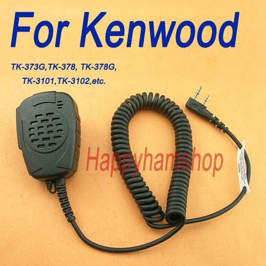 Rainproof Heavy duty Speaker mic for Kenwood TK-3107 TK-2160
