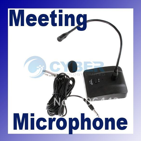 HT-35A/38 Professional Anti-interference Conference , Desktop , Meeting microphone MIC with 7M Cable Free Shipping