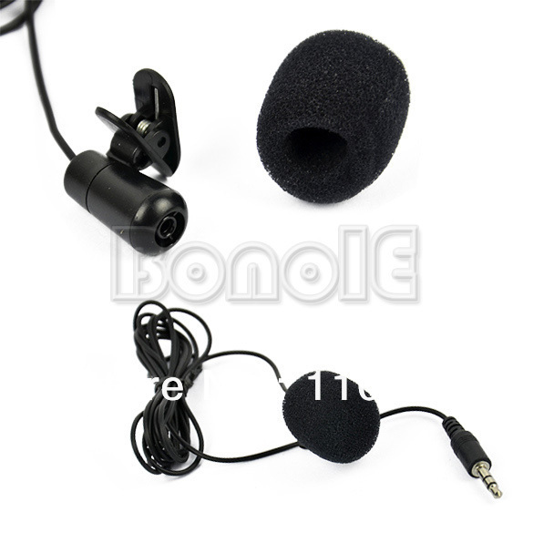 3.5mm Mini Speech Mic Microphone Clip for PC Desktop Notebook Free Shipping 8827