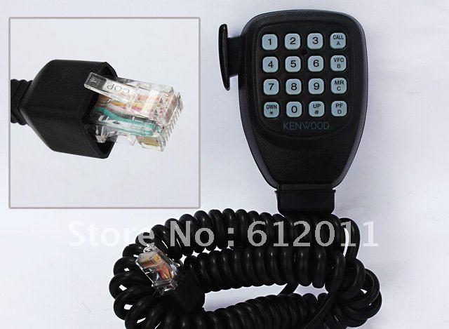 free shipping DTMF 16 keys Mic for Kenwood TK-868 TK-768 Car radio 8pin
