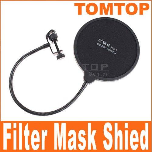Studio PC Microphone Mic Wind Screen Pop Filter Mask Shied I18 Free Shipping
