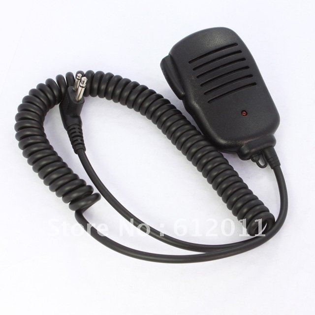 free shipping Speaker Mic 3.5mm headphone jack FOR Motorola Radio 2 PIN 5mm