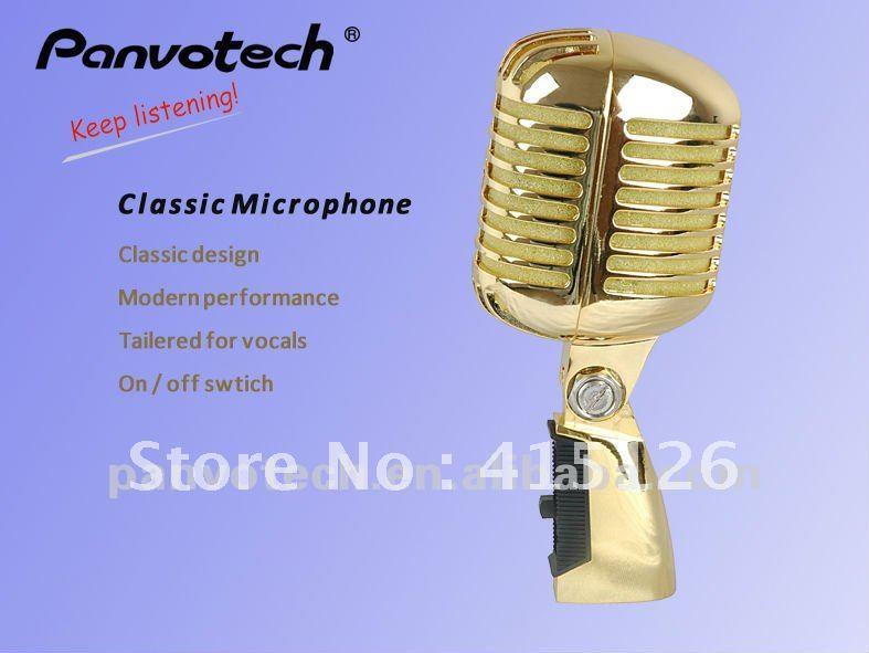 Panvotech PM-55 Vintage Microphone