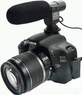 SG-108 directional Shotgun Video Camera Camcorder DV Stereo Microphone D3S D300S D7000 D5100 D90