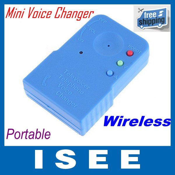 Wireless Mini 8 Multi Voice Changer Microphone,freeshipping, dropshipping