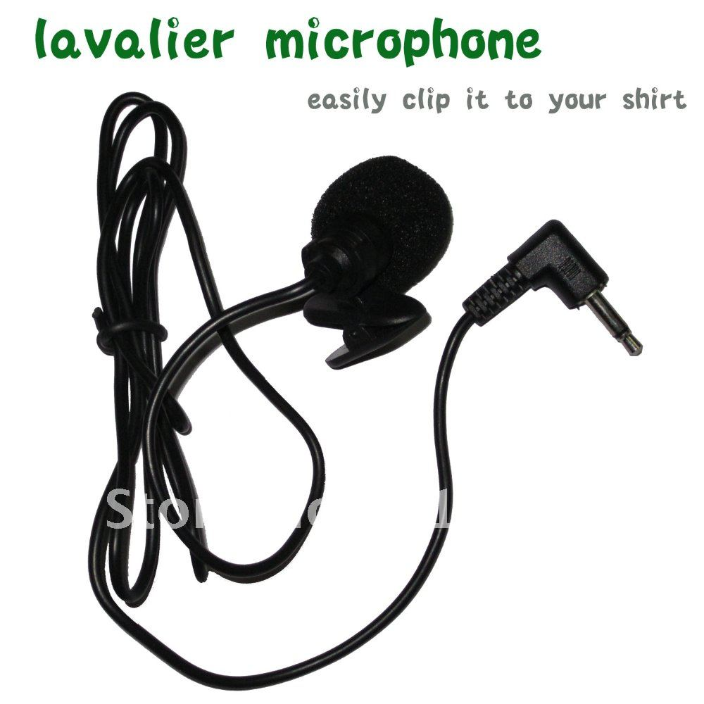 lavalier microphone Audio-Technica single track holder clip