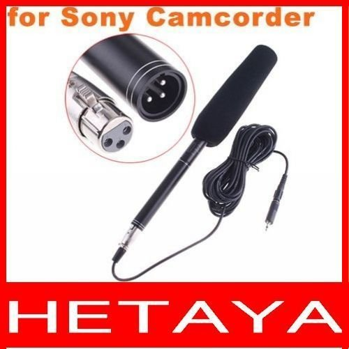 Professional Uni-Ultra-Directional Microphone Mic for Sony Camcorder Free Shipping