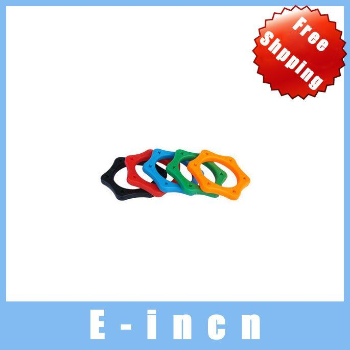 10pcs microphone anti shock ring protection ring made of natual rubber  five color (diameter 3.5CM),free shipping