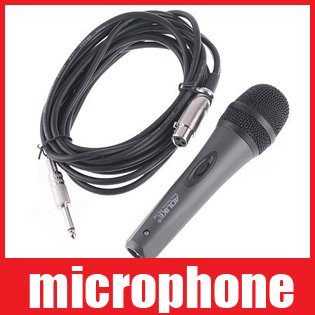 Microphone MIC Handheld Wired MIC Dynamic Microphone with 5M Cable PG142 Free shipping