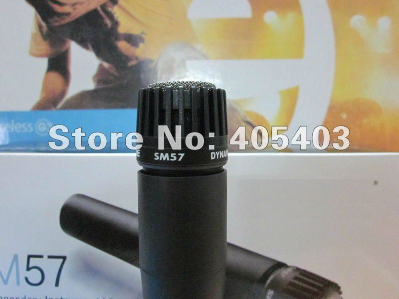 Free shipping  Top Quality Transformer inside  SM 57LC  without switch Dynamic vocal wire Microphone 57LC