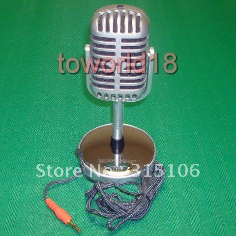 New Microphone Stereo Laptop, Retro Classic  Computer Microphone, PC Microphone  Personalized  wholesale