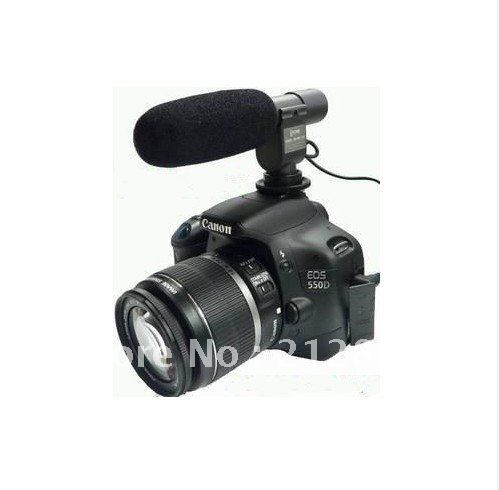 DHL+ EMS  5pcs  Camera Microphone SG-108 Stereo DV Nikon D3S D300S D7000 D3100 D5100