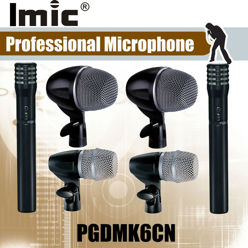Fast Shipping , Hot Sales New Products with durable and reasonable pricing drum wired new arrive drum pgdmk6cn series microphone
