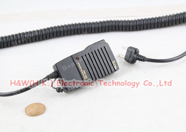 Speaker Microphone HM-46 for two way radio ICOM V8 V82 V85 V80E C150 C450