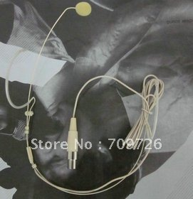 Skin/black colour headset microphone for PGX and SLX series free shipping
