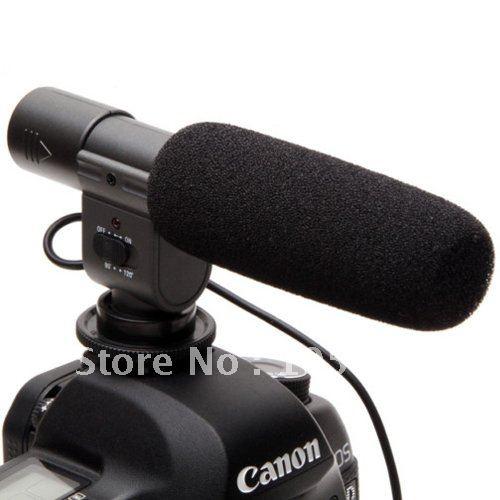 SG-108 directional Shotgun Video Camera Camcorder DV Stereo Microphone D3S D300S D7000 D5100