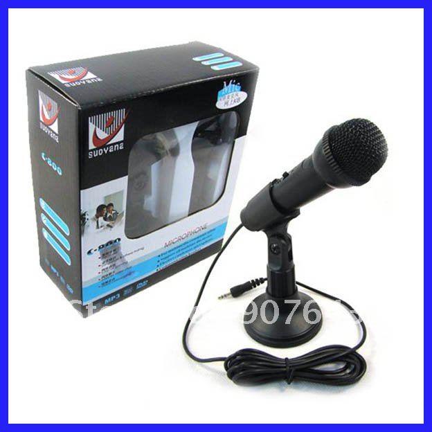 High Quality SUDYANA microphone Multimedia PC Microphone Computer Microphone C-800 for net KTV UPS&DHL&TNT&FEDEX Free shipping